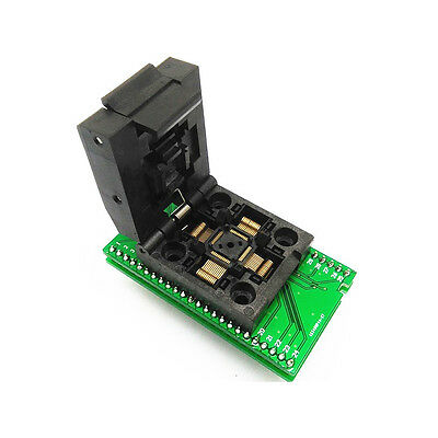 QFP48 to DIP48 CHIP PROGRAMMER SOCKET QFP48-DIP48-REV1 adapter socket support ATMEGA8 series