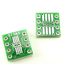 SMD SOIC 8 TO DIP 8 PIN PCB CONVERTER BOARD.