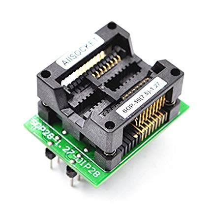 SOP16-DIP16 Socket (300mil) Programmer Adapter